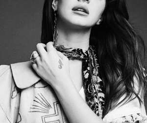 lana del rey, black and white, and ️lana del rey image