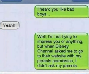 funny, text, and disney image