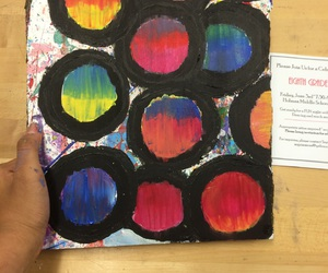 paint, acrylic paint, and peter max image