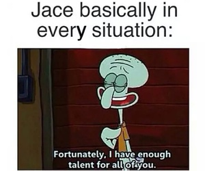 jace, funny, and the mortal instruments image