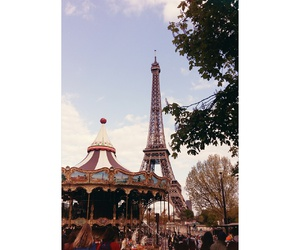 city, eiffel, and france image