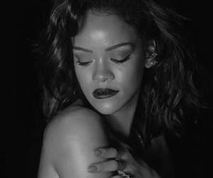 anti, needed me, and black and white image