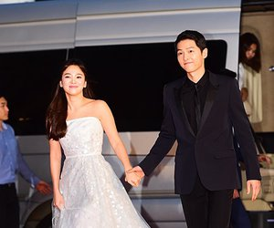 couple, song hye kyo, and song joong ki image