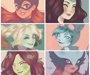 girls, harley quinn, and love image