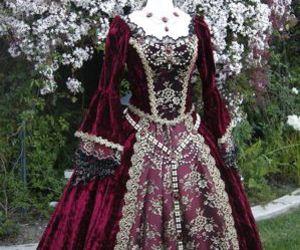 dress, elizabethan, and historical image