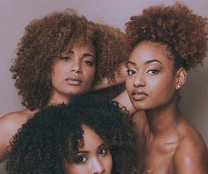 melanin and curls image