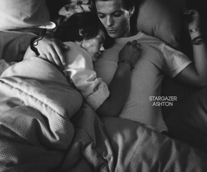 bed, Hot, and manip image