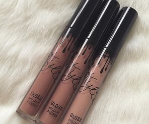 cosmetics, gloss, and kylie jenner image