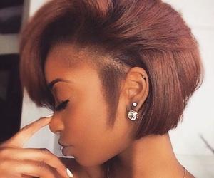 brown hair, hair, and short hair image