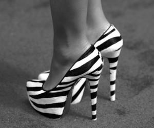 black & white, stripes, and photography image