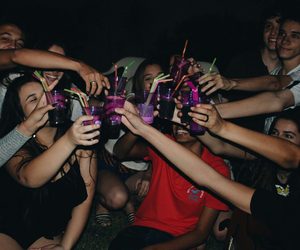 party, girls, and goals image