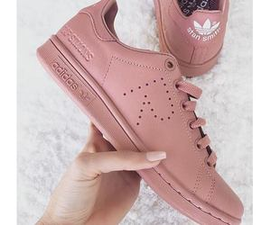 adidas, pink, and shoes image