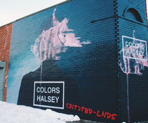 colors, halsey, and badlands image