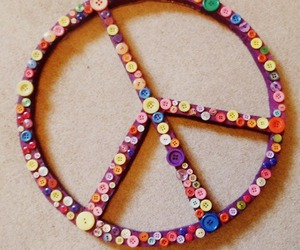 peace, peacefully, and peace sign. image
