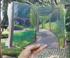 art and green image