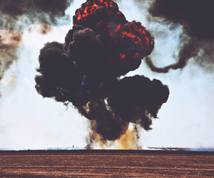 explosion, fire, and photography image