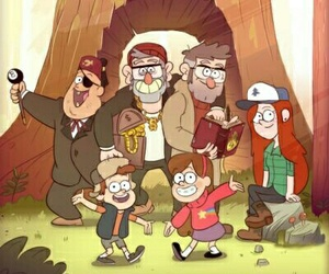 gravity falls, family, and soos image