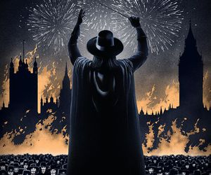 v, v for vendetta, and movie image