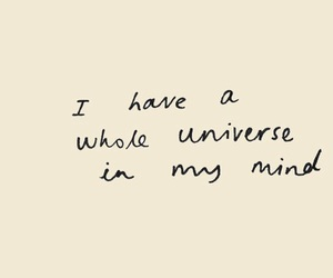 universe, quotes, and header image
