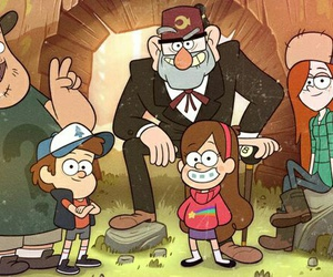 gravity falls, wendy, and mabel image