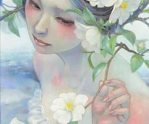 girl, draw, and japan image
