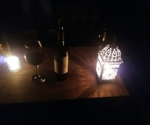 candle, friday, and wine image