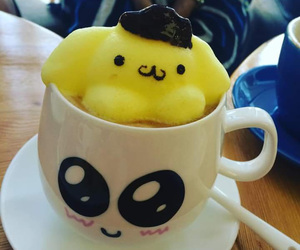 coffee, kawaii, and sanrio image