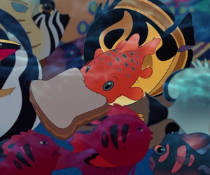 fish, lilo and stitch, and disney image