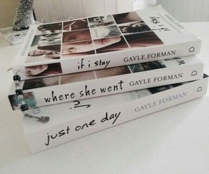 book, if i stay, and where she went image