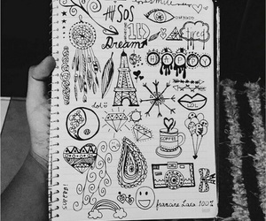 drawing, art, and 5sos image