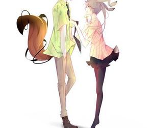 zootopia, anime, and couple image