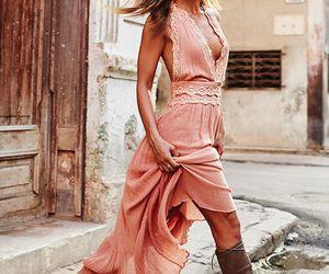 boho, fashion, and street style image