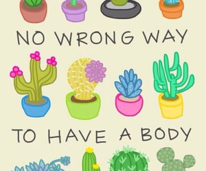 body, cactus, and body positive image