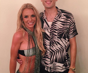 britney spears and g-eazy image