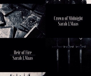 celaena, throne of glass, and crown of midnight image