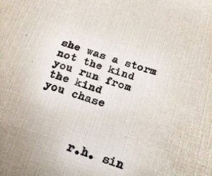 quotes, storm, and she image
