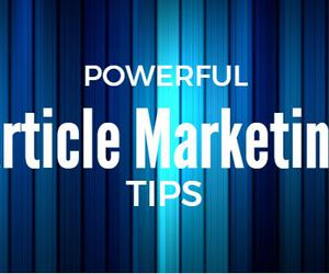 blog, article marketing sites, and article marketing tips image