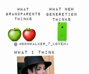 mj, applehead, and love image