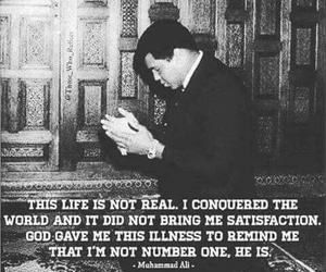 muhammad ali and quote image