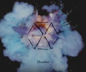 exo, monster, and kpop image