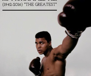 easel, rip, and mohammed ali image