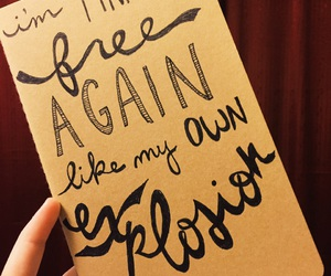 hand lettering, hope, and inspiration image