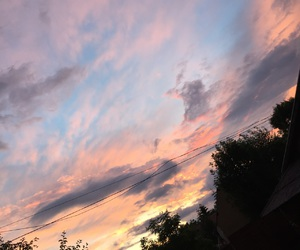 beautiful, sky, and summer image