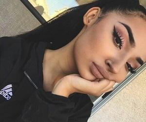 makeup, beauty, and adidas image