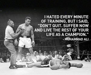 champion, quote, and muhammad ali image