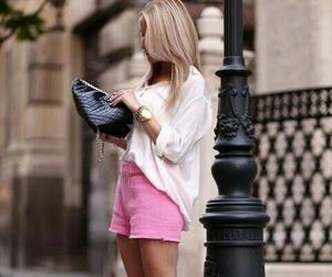 blonde, fashion, and girly image