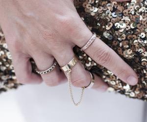 glitter, jewellery, and handbag image