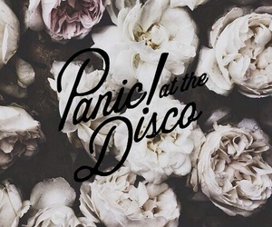 brendon urie, flowers, and Logo image