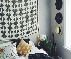 bedroom, hat, and tumblr image