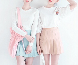 kfashion, pastel, and pink image